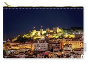 Lisbon Night Background Carry-all Pouch