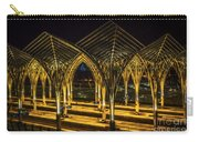 Lisbon Train Station At Night Carry-all Pouch