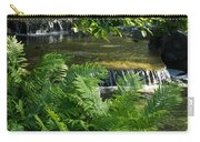 Listen To The Babbling Brook - Green Summer Zen Carry-all Pouch