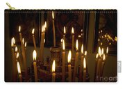 lit Candles in church  Carry-all Pouch