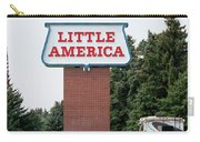 Little America Hotel Signage Vertical Carry-all Pouch