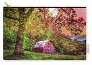 Little Barn In The Smokies Carry-all Pouch