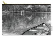 Little Bit Of Heaven Black And White Panorama Carry-all Pouch