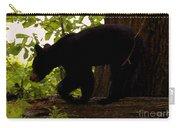 Little Black Bear Carry-all Pouch