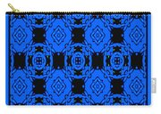 Little Blue Angels Abstract Carry-all Pouch