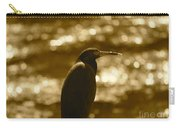 Little Blue Heron In Golden Light Carry-all Pouch