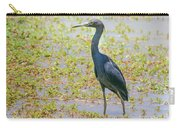 Little Blue Heron In Weeds Carry-all Pouch