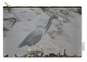Little Blue Heron Walking Carry-all Pouch