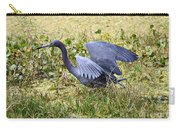 Little Blue Heron Walking In The Swamp Carry-all Pouch
