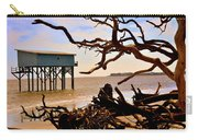 Little Blue Hunting Island State Park Beaufort Sc Carry-all Pouch