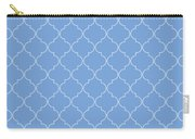 Little Boy Blue Quatrefoil Carry-all Pouch