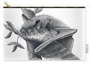 Little Brown Bat Carry-all Pouch