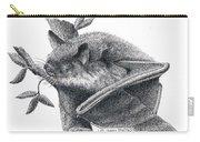 Little Brown Bat Carry-all Pouch