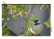 Little Chickadee In The Pink Carry-all Pouch