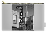 Little City Market North Beach San Francisco Bw Carry-all Pouch