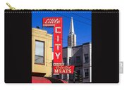 Little City Sign North Beach Carry-all Pouch