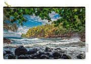 Little Cove On Hawaii' Carry-all Pouch