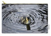 Little Duckling Goes For A Swim Carry-all Pouch