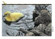 Little Ducky 2 Carry-all Pouch by Angelina Vick
