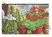 Little Flower Pot Garden Carry-all Pouch