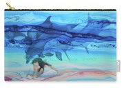 Little Girl Painter Carry-all Pouch