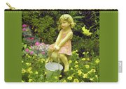 Little Girl With Pail Carry-all Pouch