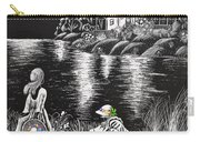Little Girls Carry-all Pouch by Svetlana Sewell