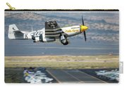 P51 Mustang Little Horse Gear Coming Up Friday At Reno Air Races 5x7 Aspect Carry-all Pouch