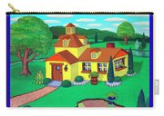 Little House On The Green Carry-all Pouch by Snake Jagger