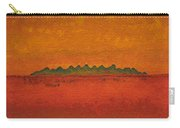 Little Needles Original Painting Carry-all Pouch