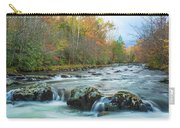 Little Pigeon River Great Smoky Mountains National Park In Fall Carry-all Pouch