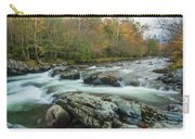 Little Pigeon River In Autumn In Smoky Mountains In Autumn Carry-all Pouch