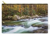 Little Pigeon River In Fall In The Smokies Carry-all Pouch