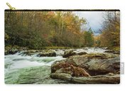 Little Pigeon River In The Greenbrier Section Of Smoky Mountains Carry-all Pouch