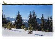 Little Pine Forest - Impressions Of Mountains Carry-all Pouch