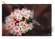 Little Pink Flowers Carry-all Pouch
