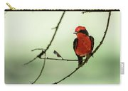 Little Red Beauty - Vermilion Flycatcher Carry-all Pouch