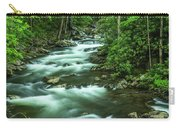 Little River Tremont Area Of Smoky Mountains National Park Carry-all Pouch