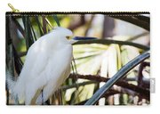 Little Snowy Egret Carry-all Pouch