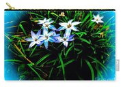 Little Star Wind Flowers Carry-all Pouch