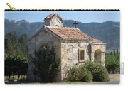Little Stone Chapel In Vineyards Of Napa Valley Carry-all Pouch