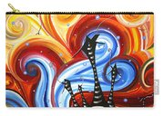 Little Village By Madart Carry-all Pouch by Megan Duncanson