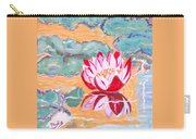 Little Water Lilly  Carry-all Pouch