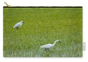 Little White Egret Carry-all Pouch