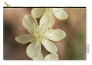 Little White Wildflowers  Carry-all Pouch
