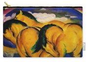 Little Yellow Horses 1912 Carry-all Pouch