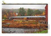 Littleton Nh Covered Bridge Carry-all Pouch
