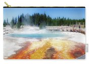 Live Dream Own Yellowstone Park Black Pool Text Carry-all Pouch