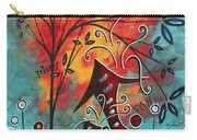 Live Life II By Madart Carry-all Pouch