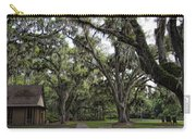 Live Oak And Spanis Moss Landscape Carry-all Pouch